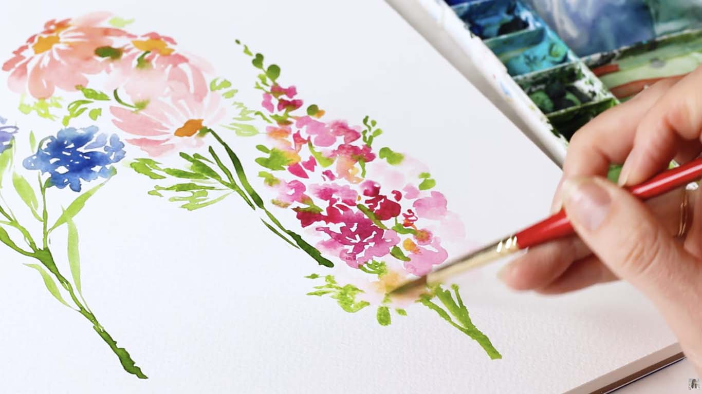 Jenna Rainey's Watercolor, Calligraphy, and Illustration Tutorials