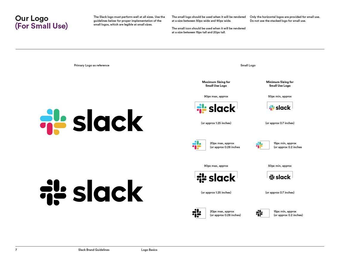 New Slack brand guidelines
